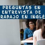 entrevista de trabajo en inglés