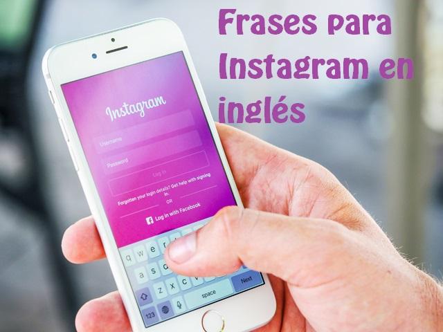 frases para Instagram en inglés